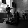 Lone Performer, 6th Street Bar - Austin, Texas