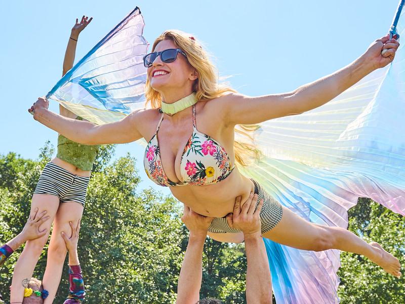 Angel takes Flight, Eeyore's Birthday Party - Austin, Texas