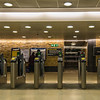Entry gates at Blackfriars Station