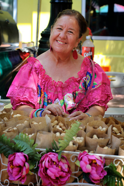 Vendor at El Mercado - San Antonio, Texas