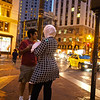 Taking in the City, Market Street - San Francisco