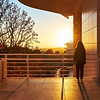 Approaching Sunset, Getty Center - Los Angeles, California