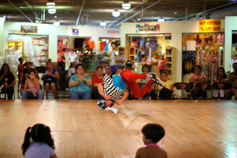 Performance at El Mercado - San Antonio, Texas