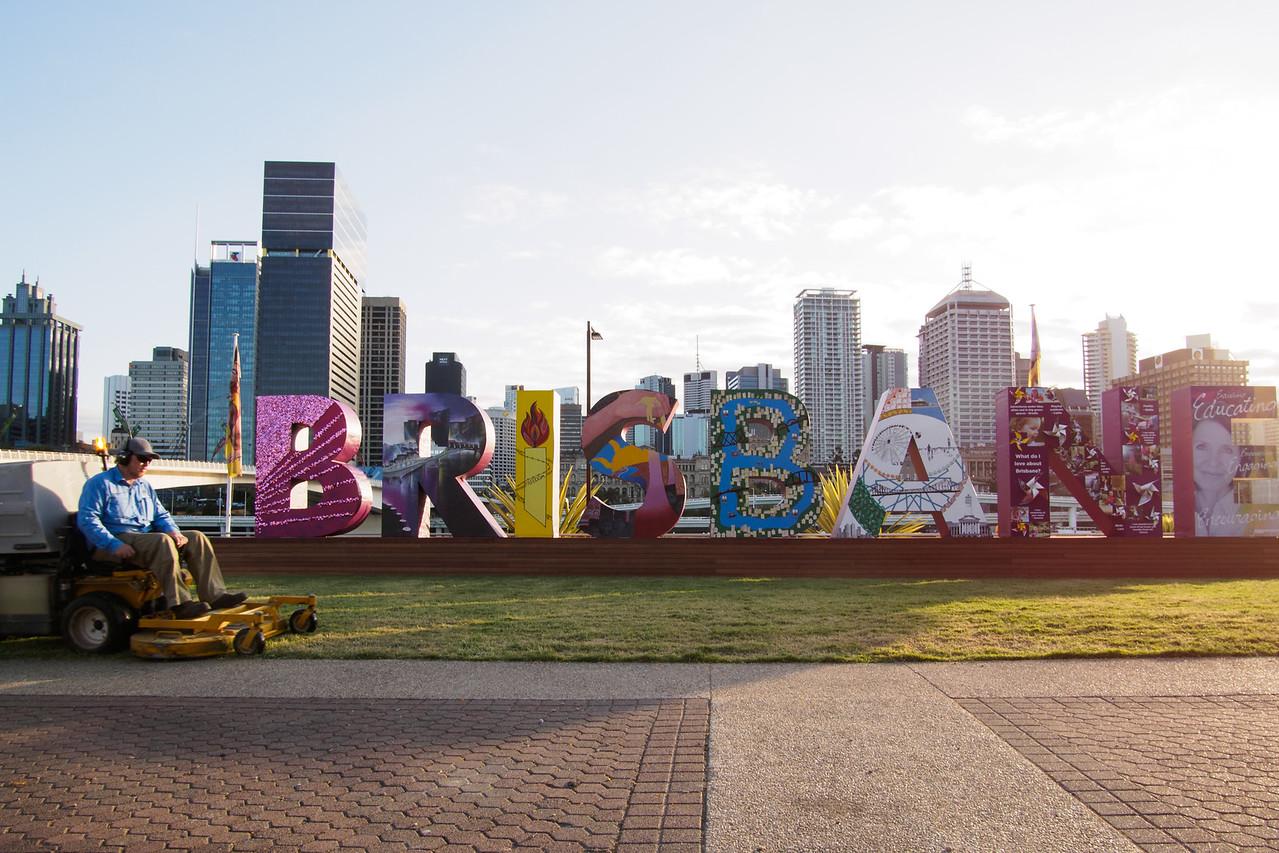 The Brisbane Straight Story