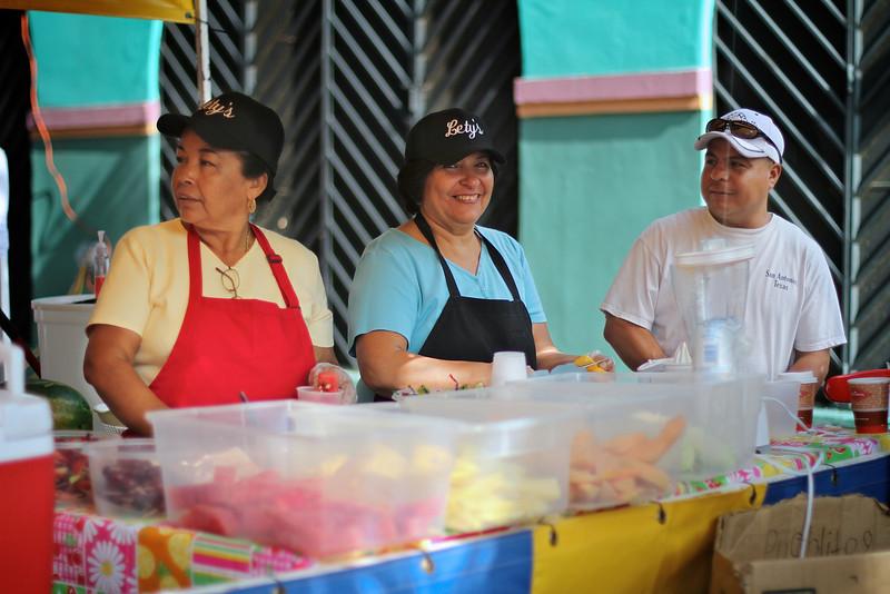 Food Vendors at El Mercado - San Antonio, Texas
