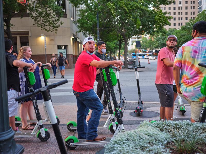 Scooter Gang - Austin, Texas