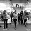The Apple Store Hustle and Bustle - San Francisco, California
