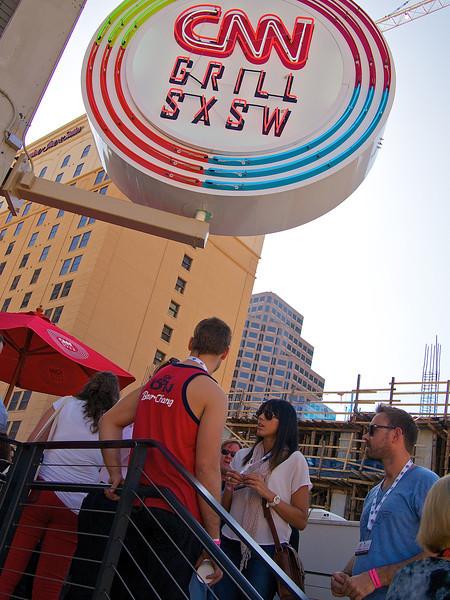 CNN Grill SXSW, SXSW 2012 - Austin, Texas