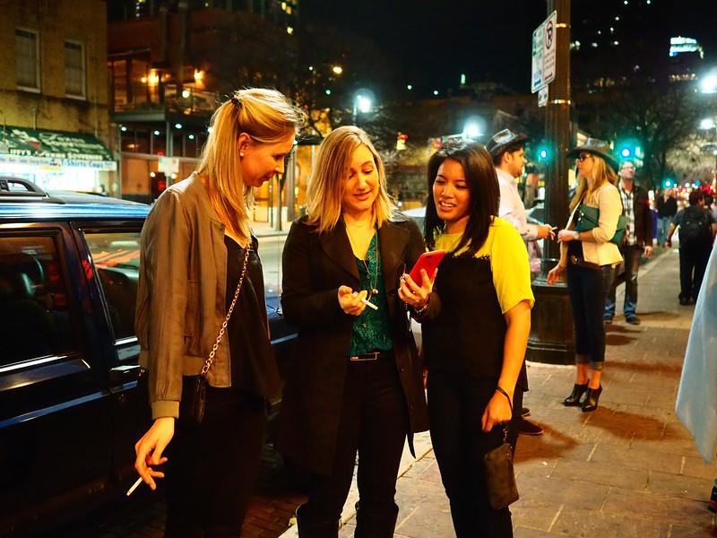 Three Smokers #2, 6th Street - Austin, Texas