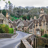 The beautiful Castle Combe