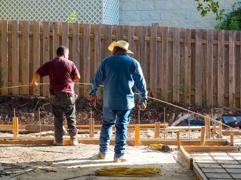 Backyard Construction - Austin, Texas