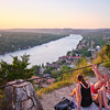 Lounging, Mount Bonnell - Austin, Texas