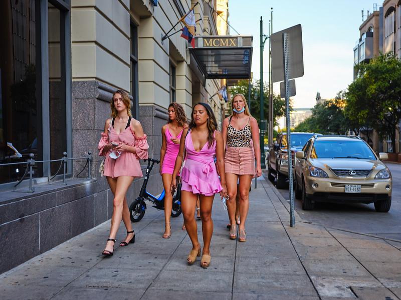 Pretty in Pink, 6th Street - Austin, Texas