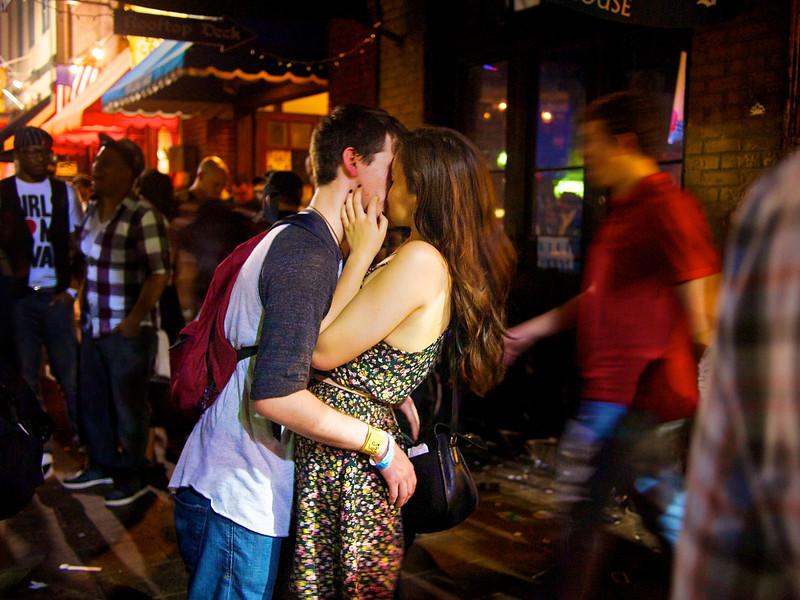 6th Street Kiss - Austin, Texas