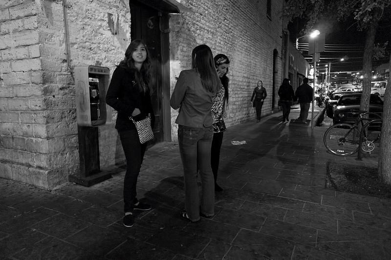Women on the Corner, 6th Street - Austin, Texas