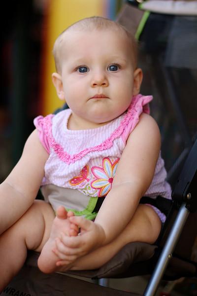 Baby in Stroller - San Antonio, Texas