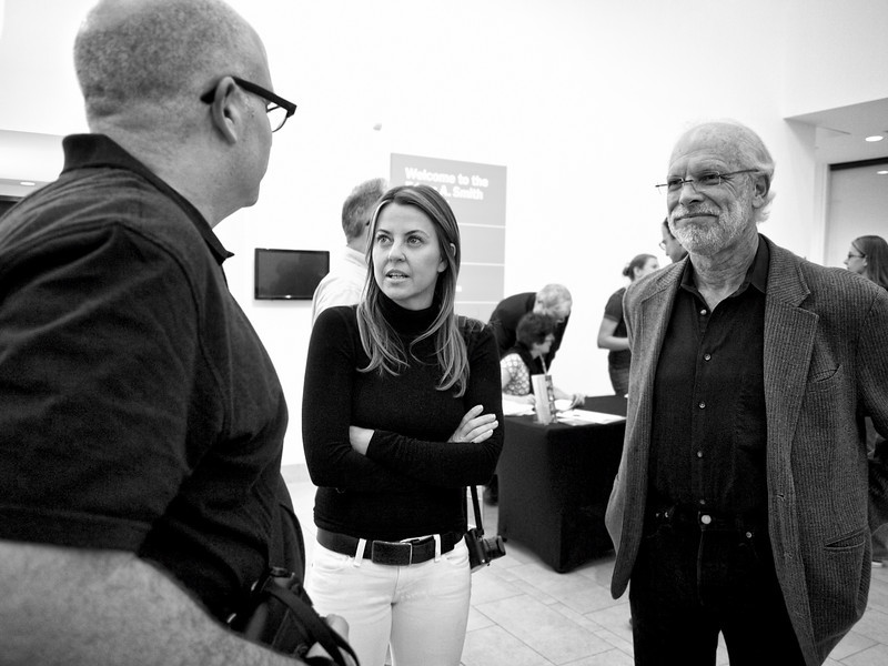Jacquelyn and Glen, Peter Turnley Lecture - Austin, Texas