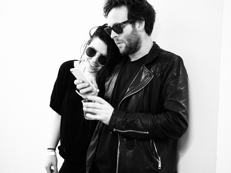 Couple in Black, EAST 2018 - Austin, Texas