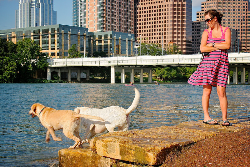 Downtown Dog Park - Austin, Texas