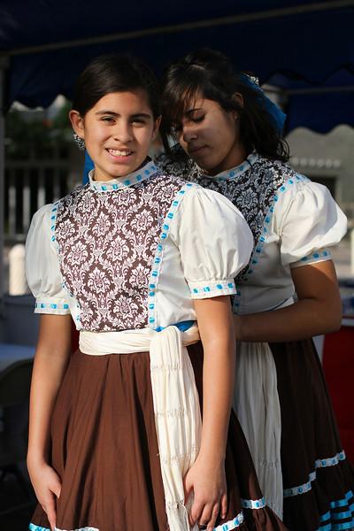Two Dancers getting Ready - San Antonio, Texas