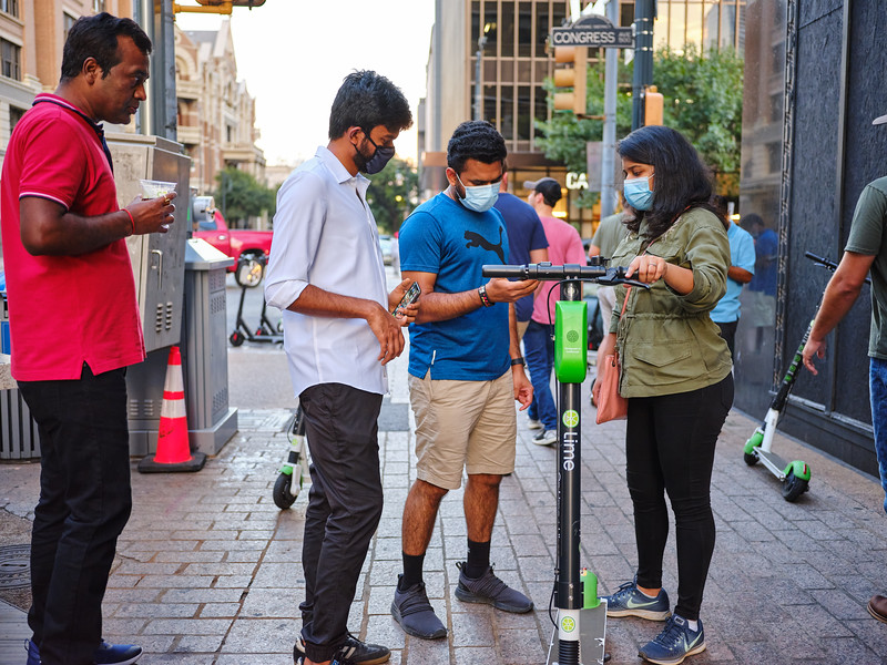 Figuring Out Scooters - Austin, Texas