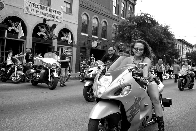 Happy without a Harley, 2013 ROT Rally - Austin, Texas