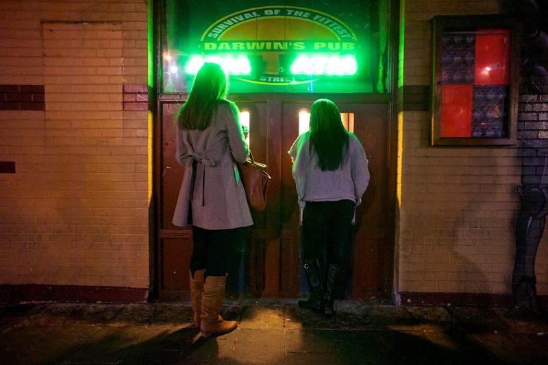 Two ATMs, 6th Street - Austin, Texas
