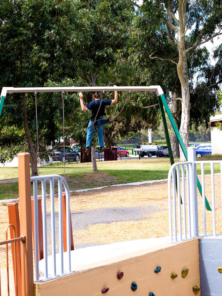Maybe a little too big for the swings...