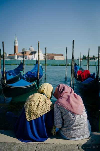 Teens in Venice