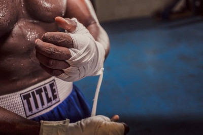 Strikers Boxing Club in The Bahamas photo by Matt Reese©