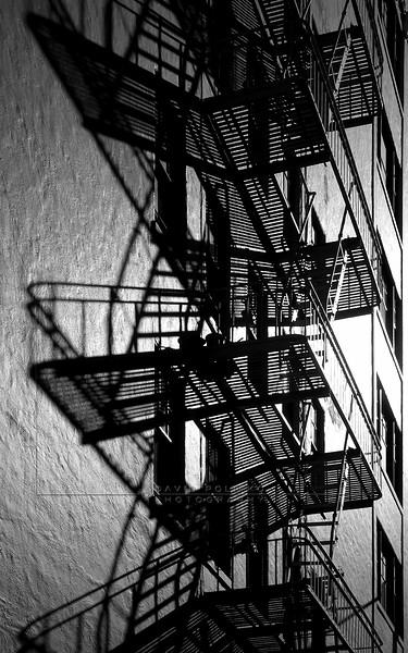 S05 Chinatown Fire Escape, San Francisco, California, USA