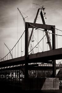 Day 050 - Christopher S. Bond Bridge Overshadows Paseo