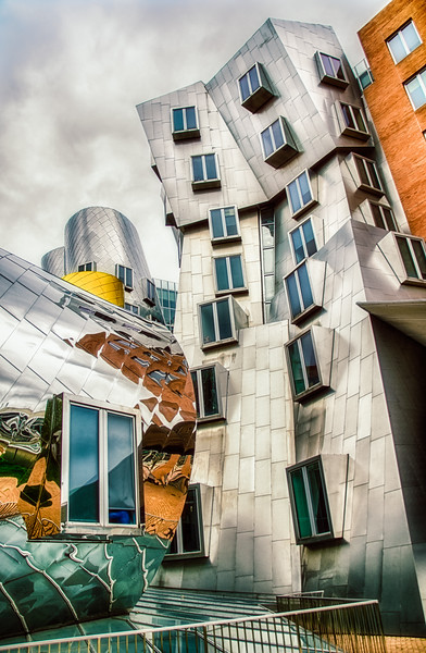 Stata Center Building - MIT Campus (without added lens flare)