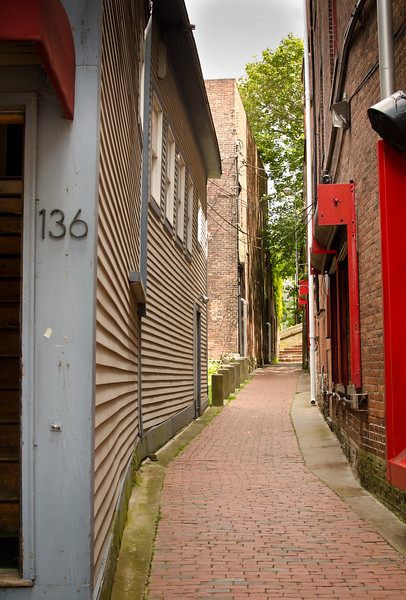 Alley in Newport, RI