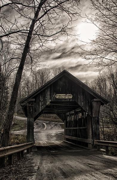 Emily's Bridge, Stowe, VT