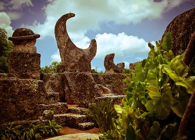 Coral Castle near Miami, FL