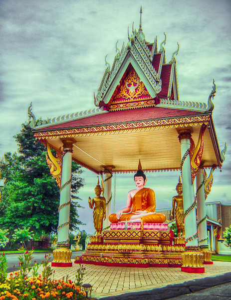 Buddhist Temple, Litchfield Hills, CT