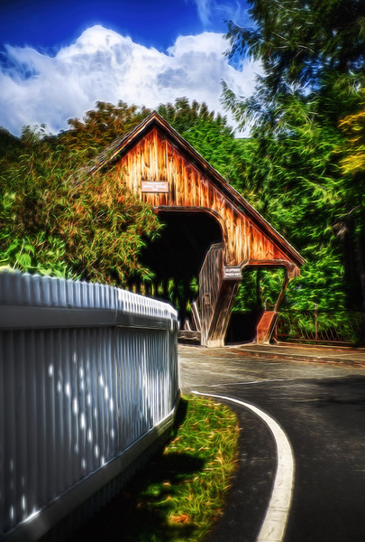 Middle Covered Bridge - Woodstock, VT