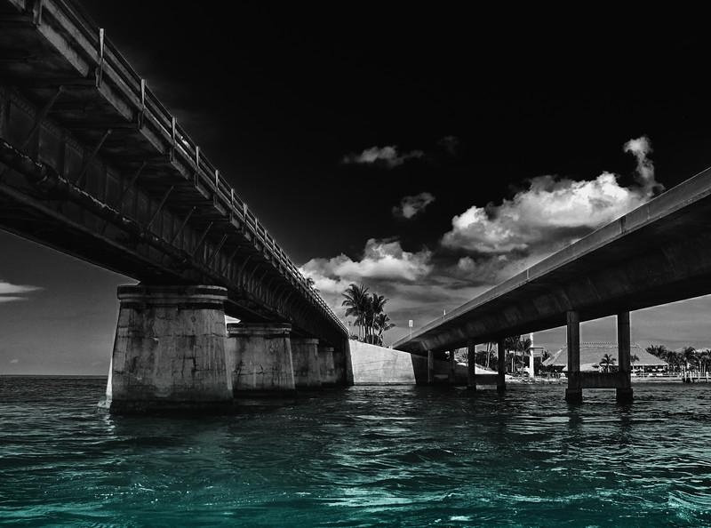 Under the 7 Mile Bridge - Marathon, FL Keys