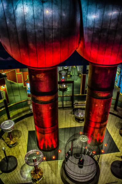 Lightning Room - Boston Museum of Science