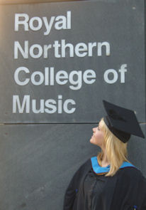 Royal Northern College of Music Graduation