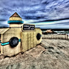 Camera Obscura is located at the Cliff House on the west side of San Francisco. The device is a giant pinhole camera. - © Simpson Brothers Photography