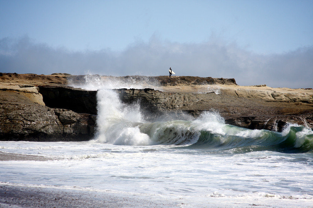 Light house point from It's Beach in Santa Cruz California - © Simpson Brothers Photography