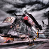 Helicopter on the deck of the USS Hornet - © Simpson Brothers Photography