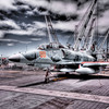 Jet Plane on the deck of the USS Hornet - © Simpson Brothers Photography