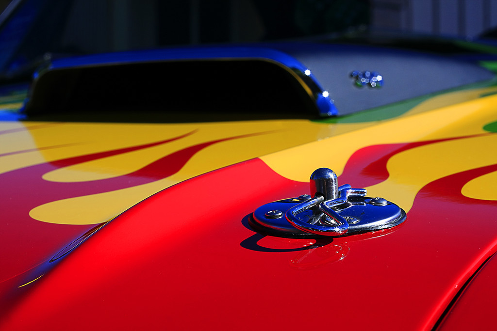 Hot Rod Hood Pin - © Simpson Brothers Photography