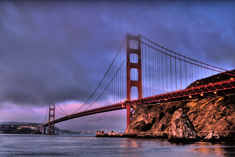 Golden Gate Sunrise - © Simpson Brothers Photography