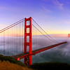 Golden Gate Bridge at Sunset - © Simpson Brothers Photography