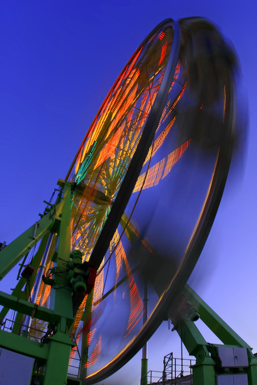 Ferris Wheel at the fair in Tracy - © Simpson Brothers Photography