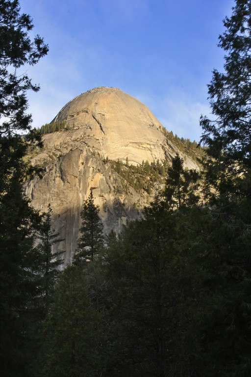 North Dome from the valley floor at Yosemite National Park California - © Simpson Brothers Photography